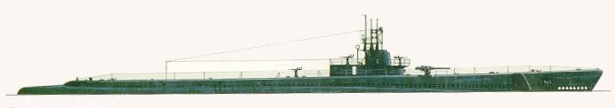 USS WAHOO August 1943